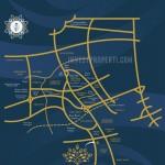 Peta Lokasi Banara Serpong