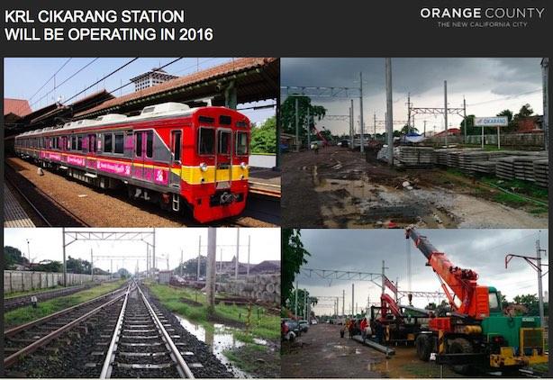 KRL Cikarang Station