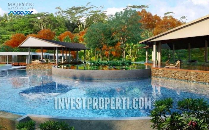 Majestic Water Village Uluwatu Bali Villa Pool