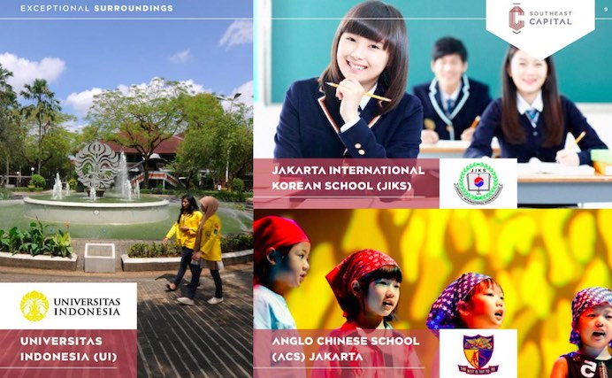 Dekat Jakarta International Korean School