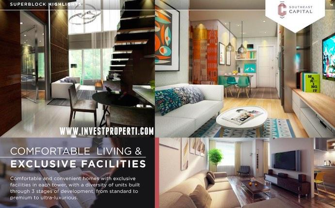 Southeast Capital Jakarta Apartment Living