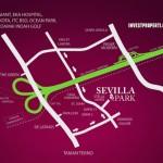 Peta Lokasi Perumahan Sevilla Park BSD City