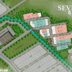 Site Plan Rumah Sevilla Park BSD