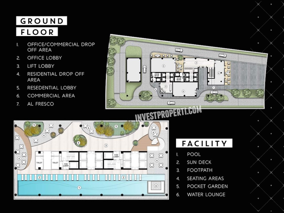 Site Plan The Smith Alam Sutera SOHO