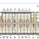 Saffron Sentul City Apartemen Site Plan