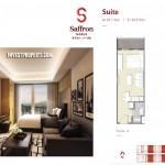 Saffron Sentul City Apartemen Studio Type