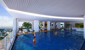 Crown Sky Alam Sutera Swimming Pool