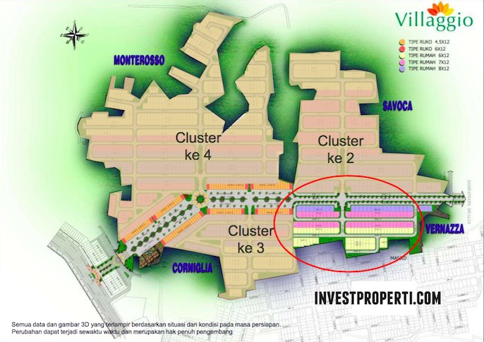 Master Plan Villaggio Citra Raya