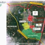 Map Villaggio Citra Raya Tangerang