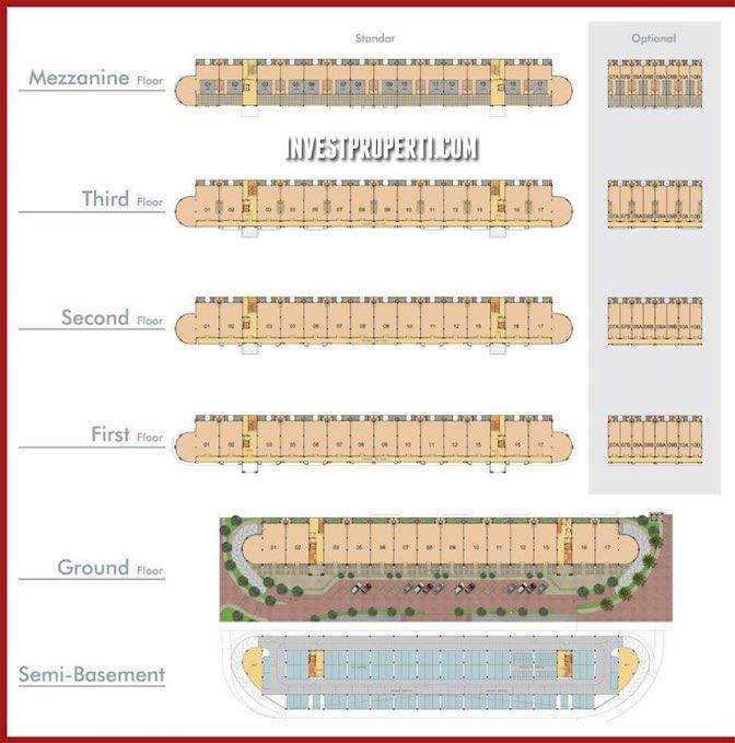 Omaha Square Gading Serpong Floor Plan