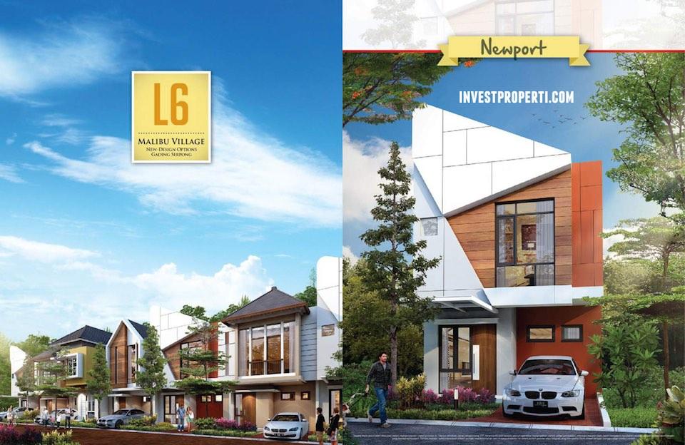 Tipe Rumah L6 New Malibu Village
