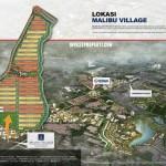 Lokasi Perumahan New Malibu Village