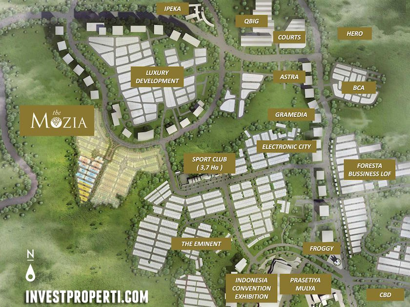 The Mozia BSD Site Plan