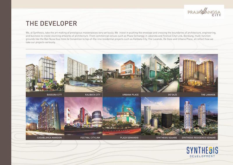 Prajawangsa City Developer Synthesis Development