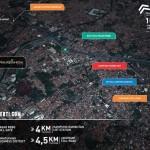 Peta Lokasi Apartemen Prajawangsa City