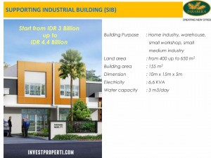 Supporting Industrial Building