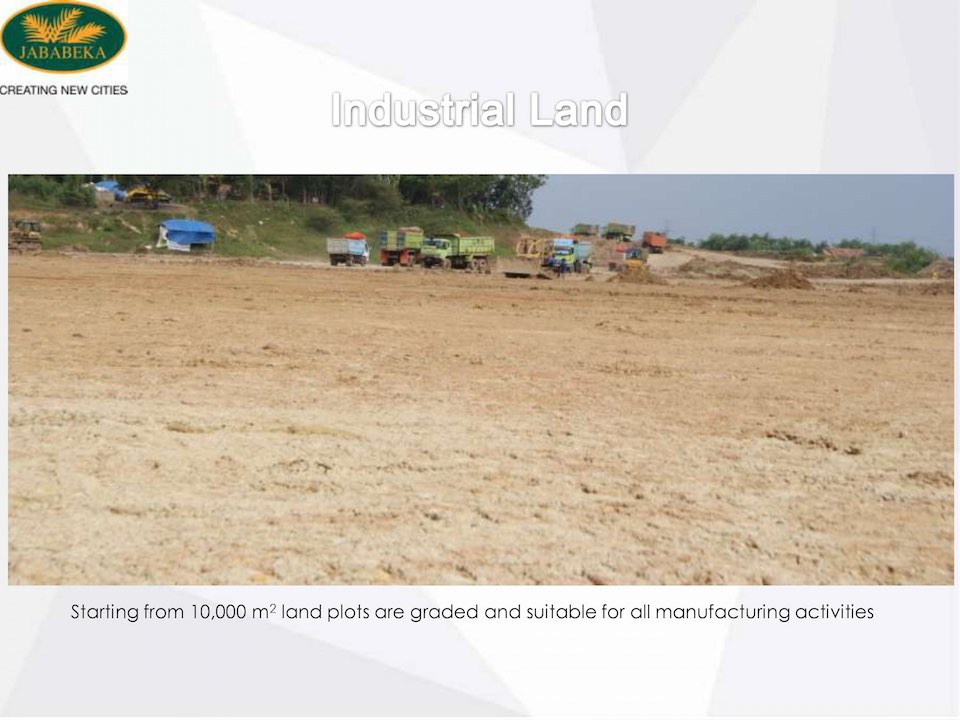 Progress Jababeka Industrial Land