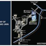 Peta Lokasi Bintaro Plaza Residence