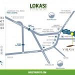 Peta Lokasi Vimala View Condo Bogor