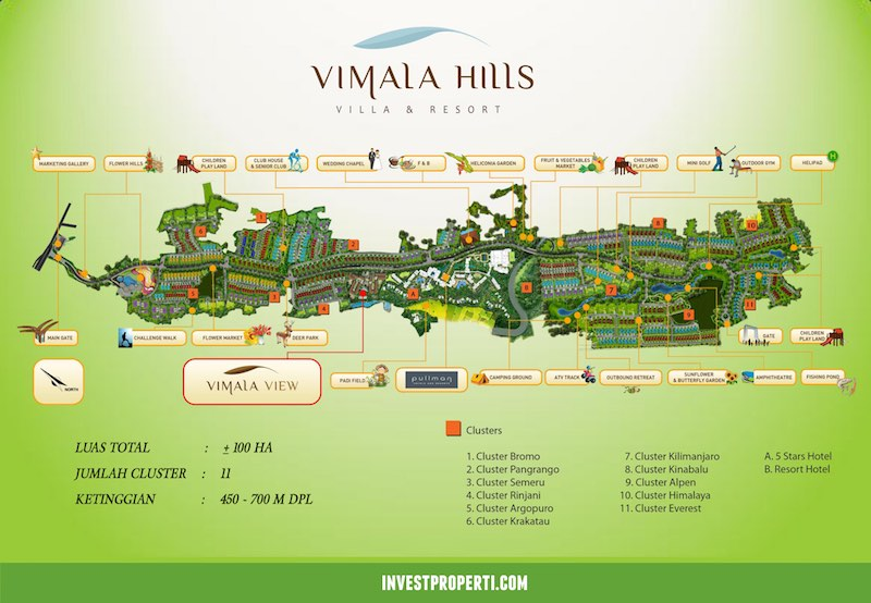 vimala view resort condominium bogor by agung podomoro land