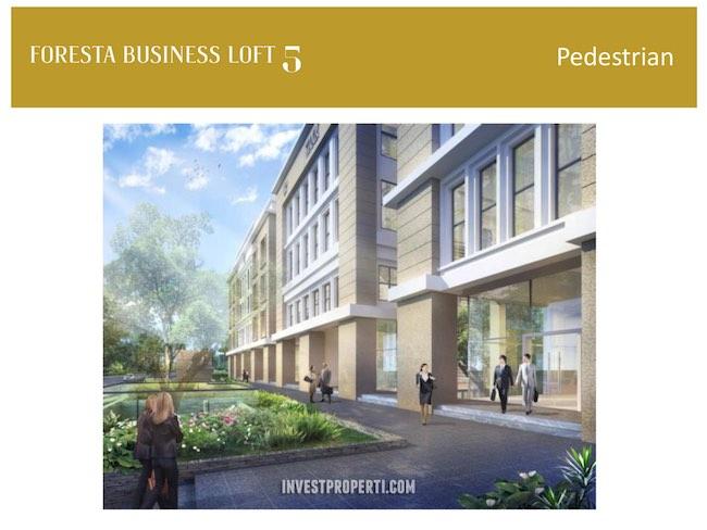 Foresta Business Loft Pedestrian
