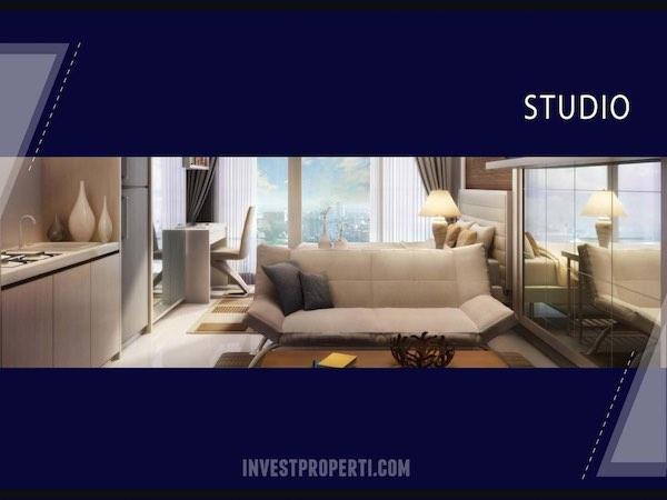 Apartemen Bintaro Plaza Tipe Studio Dijual