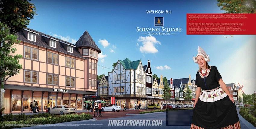 Solvang Square Ruko Paramount Serpong