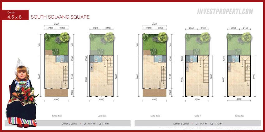 South Solvang Square Floor Plan