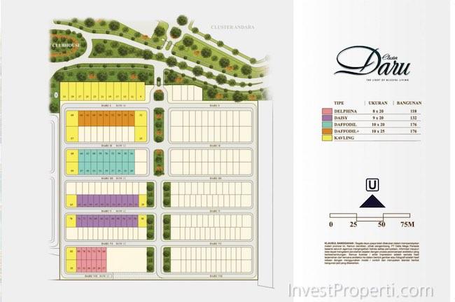 Site Plan Cluster Daru