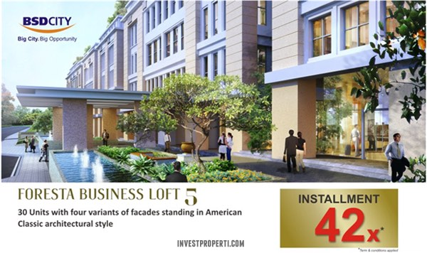 Foresta Business Loft 5 Promotion