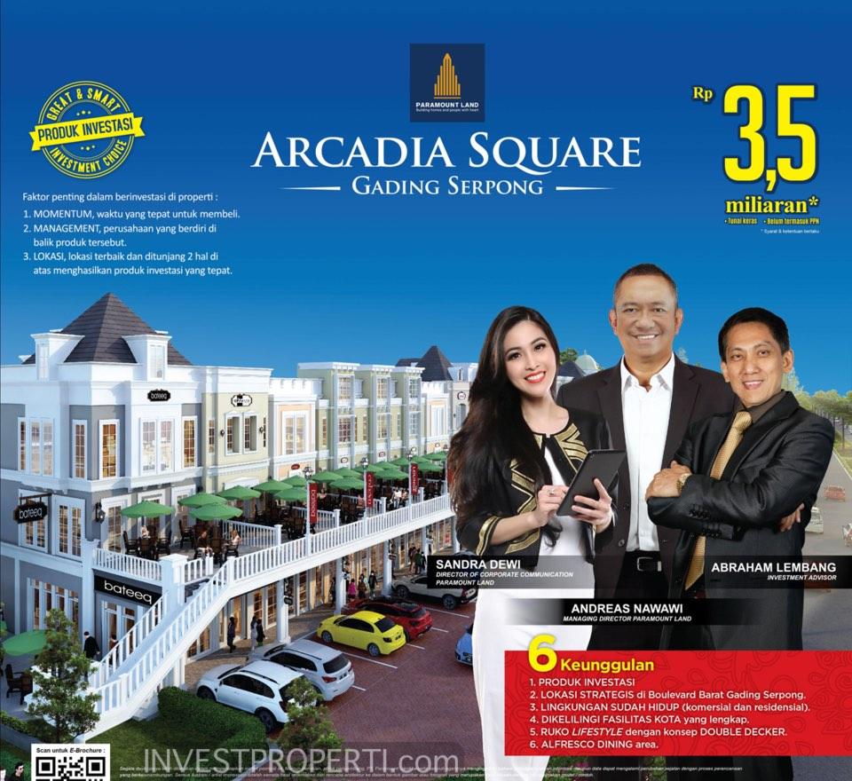 Brosur Arkadia Square Gading Serpong