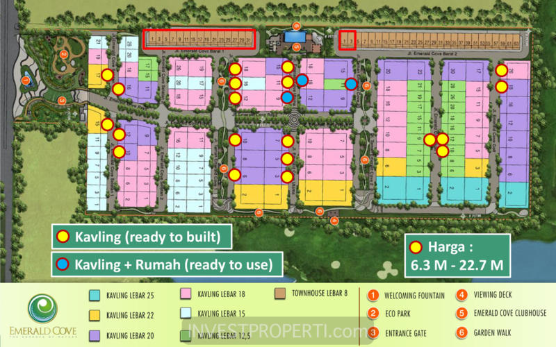 Site Plan Emerald Cove
