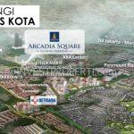 Lokasi Arcadia Square Shophouse Gading Serpong