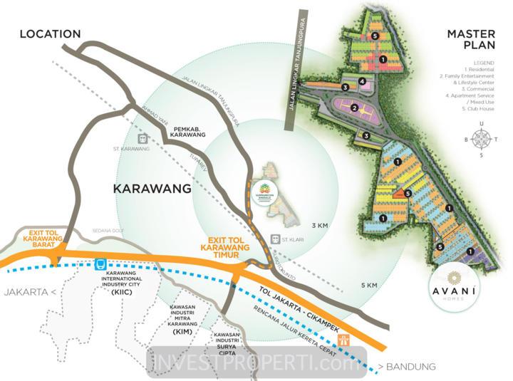 Peta Lokasi Summarecon Karawang