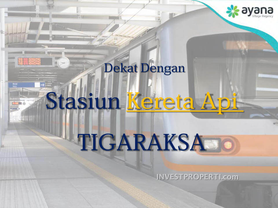 Rumah Dekat Stasiun Tigaraksa