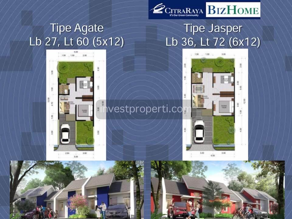 BizHome Citra Raya Tangerang House Type