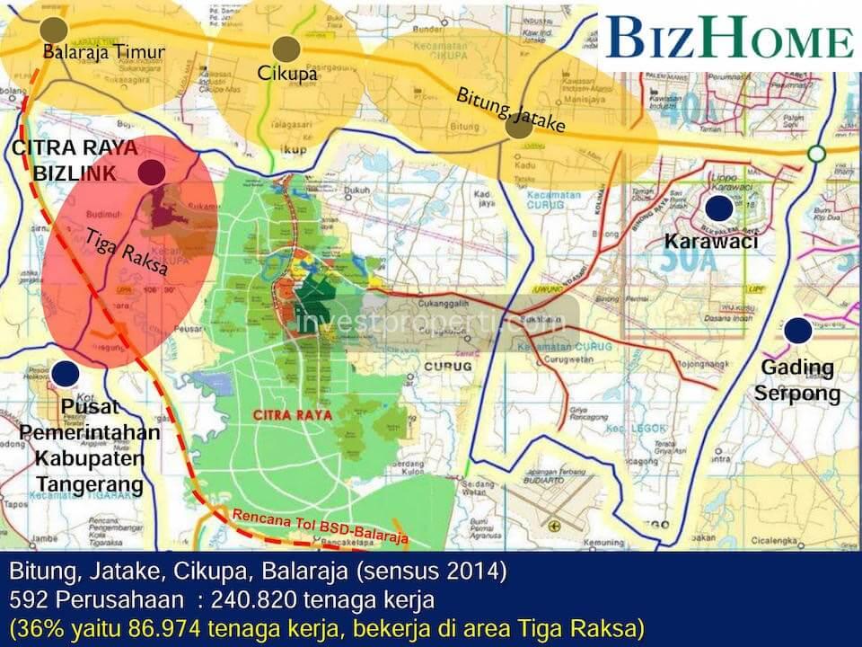 BizLink Citra Raya Map Location