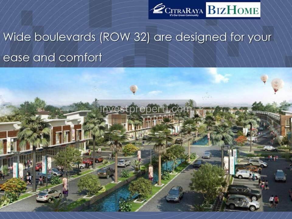 Boulevard BizHome Citra Raya