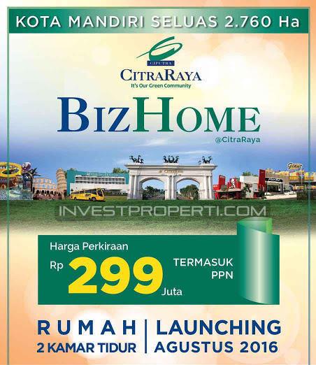 Brosur BizHome CitraRaya Tangerang