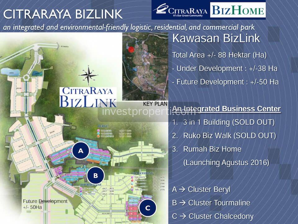 Citra Raya BizLink Master Plan