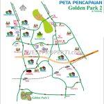 Peta Lokasi Golden Park 2