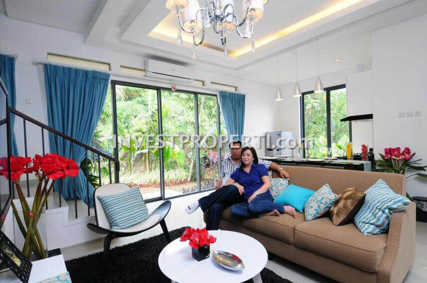 Show Unit GP 2 Serpong - Livingroom
