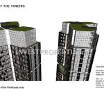 Cambio Lofts Alam Sutera Floor Plan Penthouse