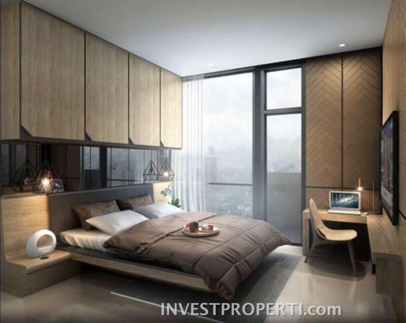 Interior Design 2 BR Apartemen Monroe