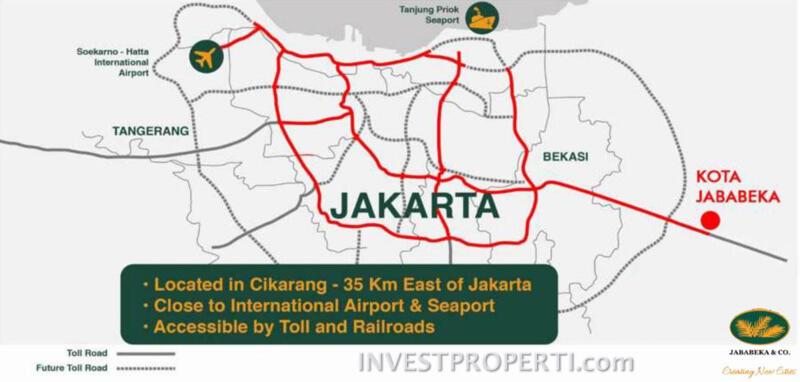 Peta Lokasi Jababeka