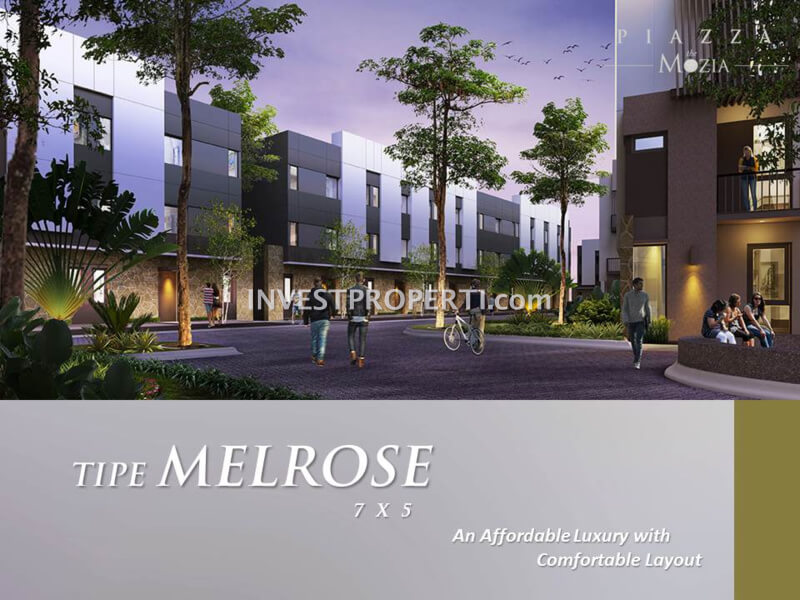 Tipe Melroze Piazza @ The Mozia BSD