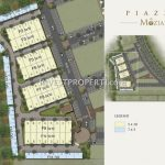 Site Plan Piazza @ The Mozia BSD