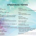 Spesifikasi Rumah RS Citra Maja Raya 2