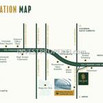 Lokasi Apartemen Southgate Simatupang