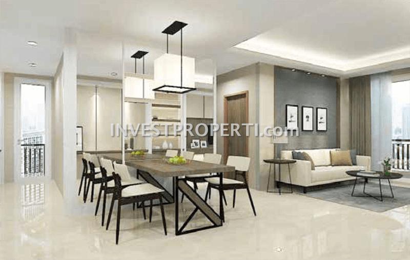 Contoh Interior Design Southgate Apartemen